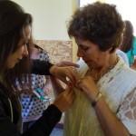 Румяна от 11 клас с г-жа Донка Тенева