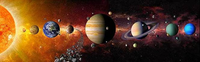 """Проект """"Слънчевата система"""" по предмета """"Човекът и природата"""""""