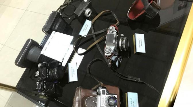 Фотокръжокът на фотоизложбата на първия гълъбовски фотограф